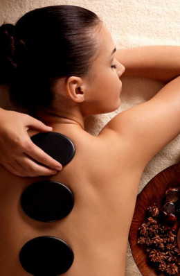 Massage aux Galets Chauds - 1h15